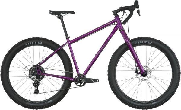 Salsa Fargo Rival 1 27,5+ Komplettrad 2018 - purple