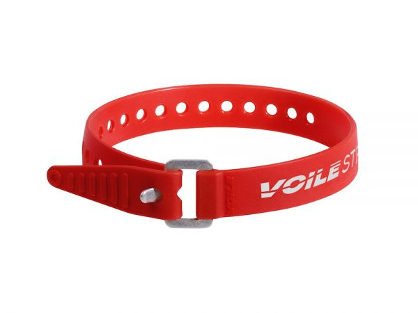 "Voile Straps 15"" Aluminum Buckle - Red"