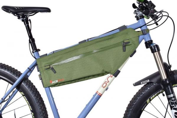 Acepac ZIP FRAME BAG - Large - Green