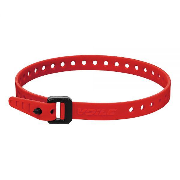 """Voile Straps NANO 16"""" Nylon Buckle - Red"""