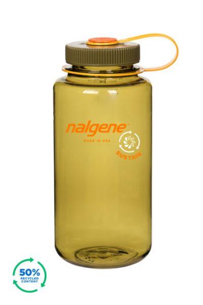 Nalgene - Wide Mouth Sustain Bottle Olive 1,0l