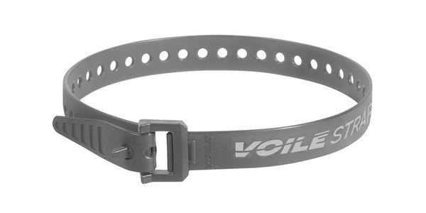"Voile Straps 20"" Nylon Buckle - Gray"