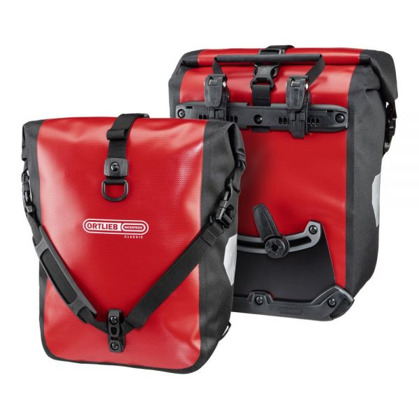 ORTLIEB Sport-Roller Classic QL2.1 Packtaschenset 2x 12,5 l. - rot-schwarz
