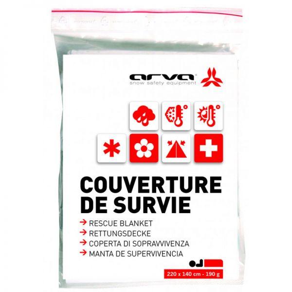 ARVA Rescue Blanket 60g - Rettungsdecke