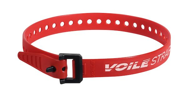 "Voile Straps 20"" Nylon Buckle - Red"