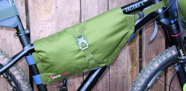 Acepac ROLL FRAME BAG - Medium - Green
