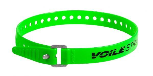 """Voile Straps 20"""" Aluminium Buckle - Green"""