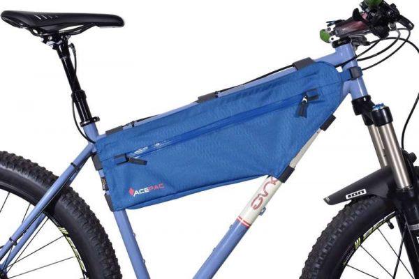 Acepac ZIP FRAME BAG - Medium - Blue