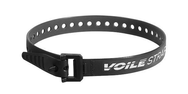 "Voile Straps 20"" Nylon Buckle - Black"