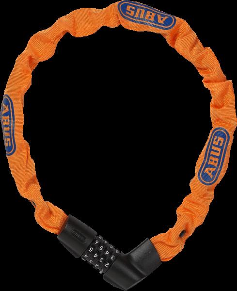 ABUS TRESOR 1385/75 Ketttenschloss - Neon Orange