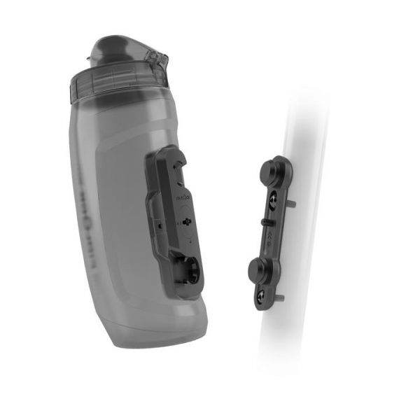 Fidlock TWIST Bottle incl. Bike Base, 590ml Gray