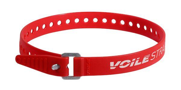 """Voile Straps 20"""" Aluminium Buckle - Red"""