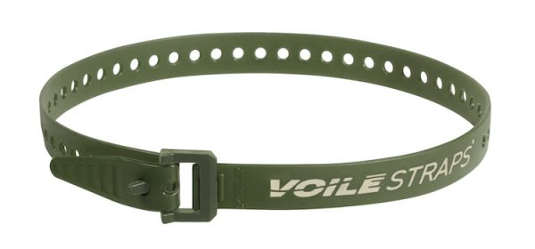 "Voile Straps 25"" Nylon Buckle - Olive"