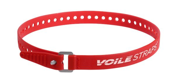 "Voile Straps 25"" Aluminium Buckle - Red"