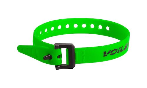 "Voile Straps 15"" Nylon Buckle - Green"