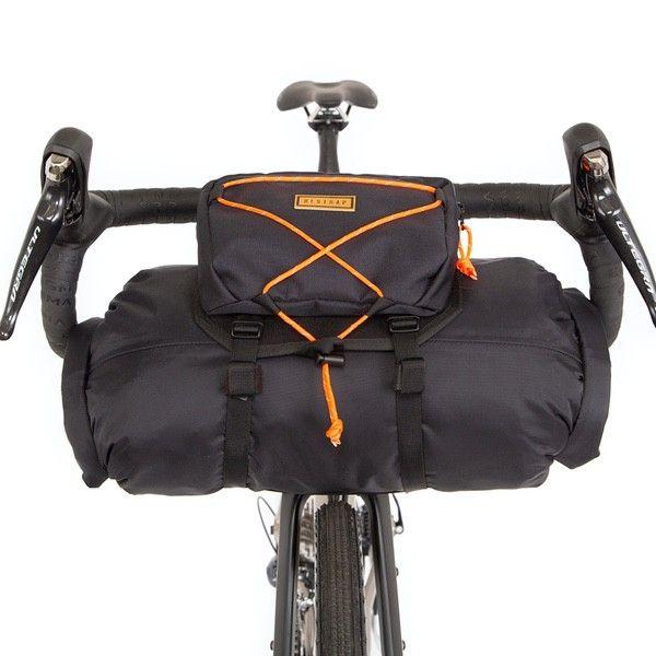 Restrap BAR BAG - SMALL - Black/Orange