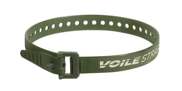 "Voile Straps 20"" Nylon Buckle - Olive"