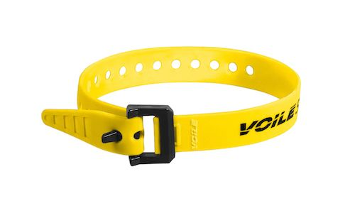 "Voile Straps 15"" Nylon Buckle - Yellow"