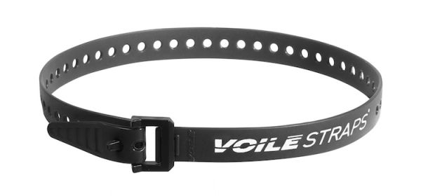 "Voile Straps 25"" Nylon Buckle - Black"