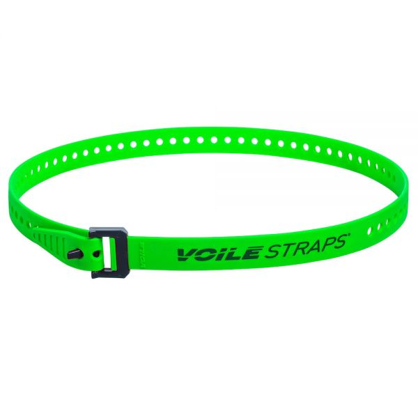 "Voile Straps 32"" Nylon Buckle - Green"