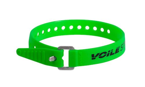 "Voile Straps 15"" Aluminum Buckle - Green"