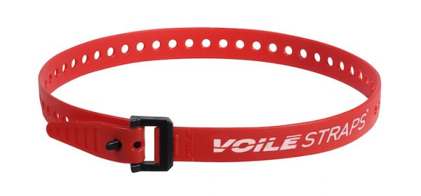 "Voile Straps 25"" Nylon Buckle - Red"