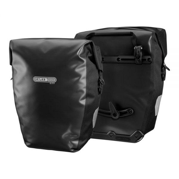 Ortlieb Back-Roller City QL1 Packtaschenset, 2x20 l. - schwarz