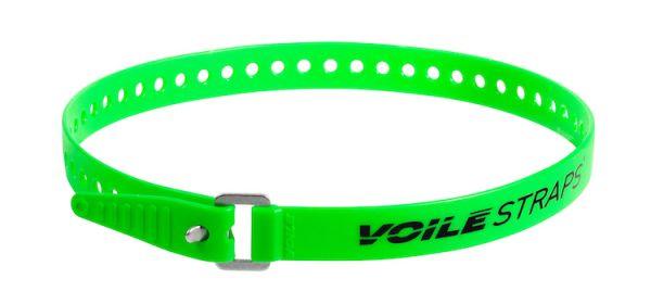 """Voile Straps 25"""" Aluminium Buckle - Green"""
