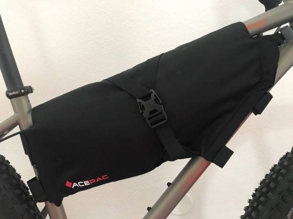 Acepac ROLL FRAME BAG - Medium - Black