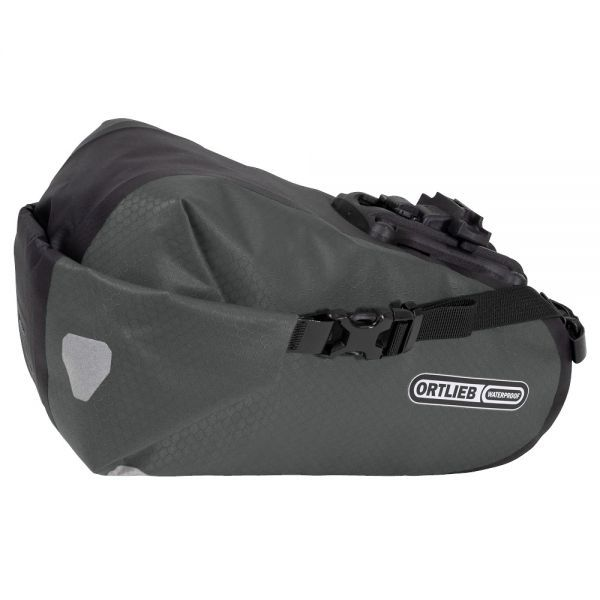 Ortlieb Saddle-Bag Two Satteltasche, Large - Schiefer/Schwarz