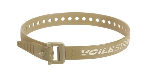 "Voile Straps 20"" Nylon Buckle - Tan"