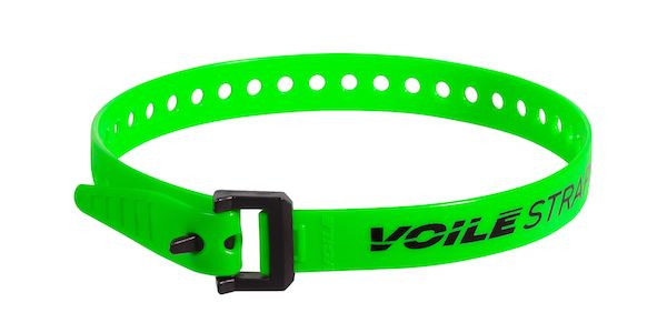 "Voile Straps 20"" Nylon Buckle - Green"