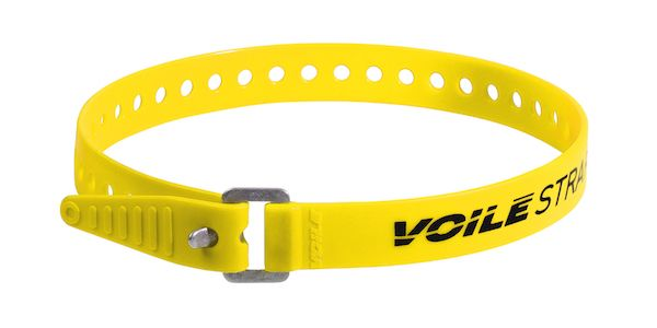 "Voile Straps 20"" Aluminium Buckle - Yellow"