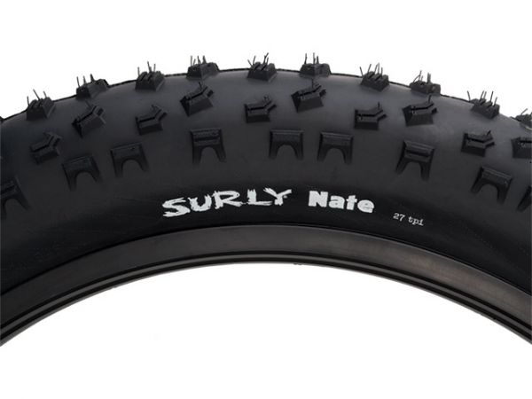 Surly Nate Fatbike Faltreifen, 26x3.8, 120TPI Reifen