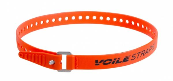 "Voile Straps 25"" Aluminium Buckle - Orange"