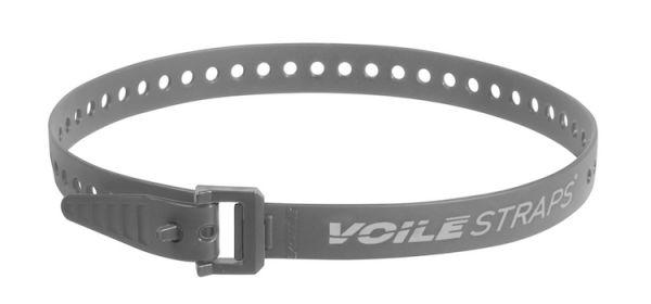 "Voile Straps 25"" Nylon Buckle - Gray"