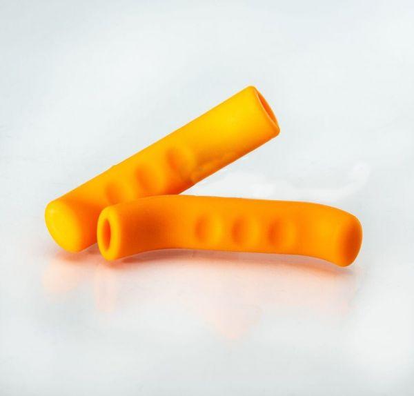 Sticky Fingers Lever Covers, Bremshebelüberzug - Orange