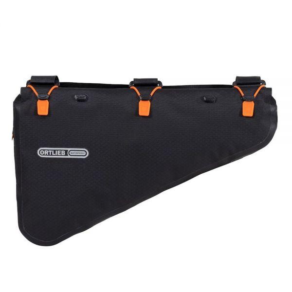 Ortlieb Frame-Pack Rolltop / Rahmentasche, Large 6 L - schwarz