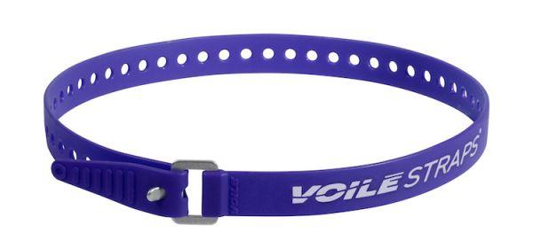 """Voile Straps 25"""" Aluminium Buckle - Blue"""